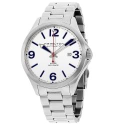 Hamilton-H76525151-Mens-Khaki-Aviation-Air-Race-Silver-Automatic-Watch
