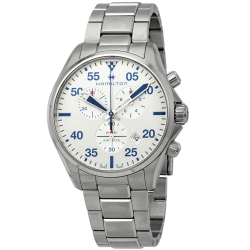 Hamilton-H76712151-Mens-Khaki-Pilot-Silver-Quartz-Watch