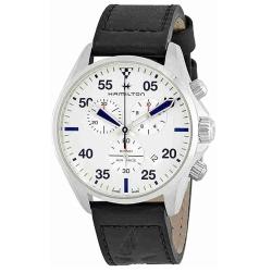 Hamilton-H76712751-Mens-Khaki-Pilot-Silver-Quartz-Watch