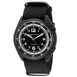 Hamilton-H80485835-Mens-Khaki-Aviation-Black-Automatic-Watch