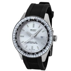 Jenny-5003.10.021.20-Mens-Caribbean-Silver-Automatic-Watch