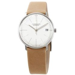 Junghans-027-4004.04-Womens-Junghans-Max-Bill-Kleine-Silver-tone-Automatic-Watch