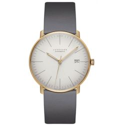 Junghans-027-7805.00-Mens-Max-Bill-White-Automatic-Watch