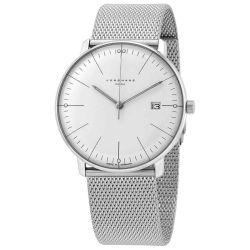 Junghans-058-4821.44-Mens-Max-Bill-Mega-White-Quartz-Watch