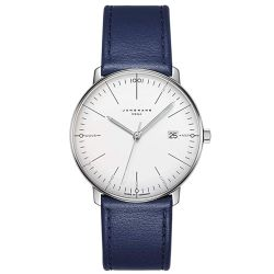 Junghans-058-4822.00-Mens-Max-Bill-Mega-White-Quartz-Watch