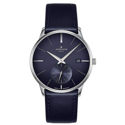 Junghans-058-4901.00-Mens-Meister-Mega-Kleine-Sekunde-Radio-Controlled--Blue-Quartz-Watch