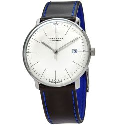 Junghans-363-2816.00-Mens-Max-Bill-Chronoscope--White-Automatic-Watch