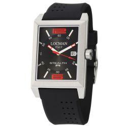 Locman-240BKRD1BK-Mens-Titanium-New-Quartz-Watch