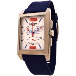 Locman-242WHRD1BL-Mens-Titanium-Sporty-Quartz-Watch