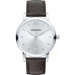 Montblanc-108770-Mens-Star-Silver-Quartz-Watch