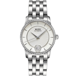 Mido-M007.207.61.036.00-Womens-Baroncelli-Silver-Automatic-Watch