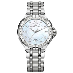 Maurice-Lacroix-AI1004-SD502-170-1-Womens-Aikon-Mother-of-Pearl-Quartz-Watch