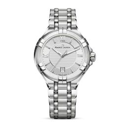 Maurice-Lacroix-AI1004-SS002-130-1-Womens-Aikon-Silver-Quartz-Watch