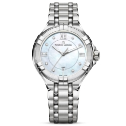 Maurice-Lacroix-AI1004-SS002-170-1-Womens-Aikon-Mother-of-Pearl-Quartz-Watch