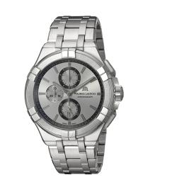 Maurice-Lacroix-AI1018-SS002-130-1-Mens-Aikon-Grey-Quartz-Watch