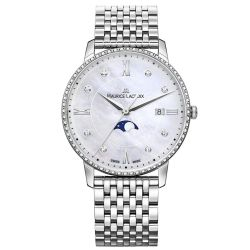 Maurice-Lacroix-EL1096-SD502-170-1-Womens-Eliros-Moonphase-White-Mother-of-Pearl-Quartz-Watch