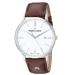 Maurice-Lacroix-EL1118-SS001-113-1-Mens-Eliros-White-Quartz-Watch