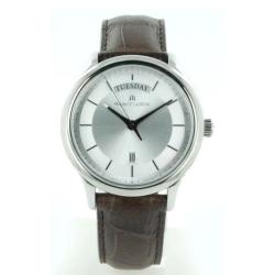 Maurice-Lacroix-LC1227-SS001-131-1-Mens--Les-Classiques-Silver-Quartz-Watch