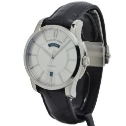 Maurice-Lacroix-PT6158-SS001-13E-Mens-Pontos-Silver-Tone-Automatic-Watch