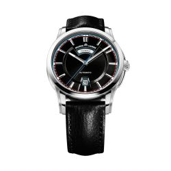 Maurice-Lacroix-PT6158-SS001-331-Mens-Pontos-Day-Date--Black-Automatic-Watch