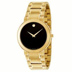 Movado-0606941-Mens-Stiri-Gold-Tone-Quartz-Watch