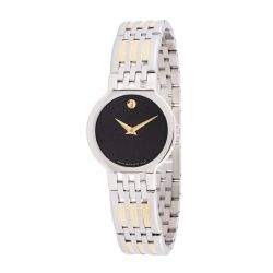 Movado-0606963-Womens-Esperanza-Black-Quartz-Watch