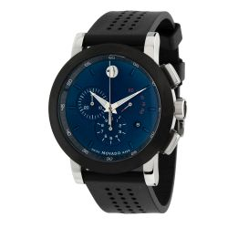 Movado-0607003-Mens-Museum-Blue-Quartz-Watch