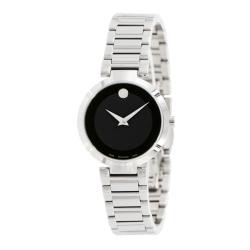 Movado-0607101-Womens-Modern-Classic-Black-Quartz-Watch