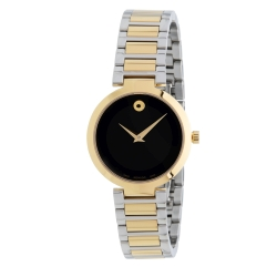 Movado-0607102-Womens-Modern-Classic-Black-Quartz-Watch