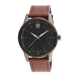 Movado-0607224-Mens-Museum-Black-Quartz-Watch