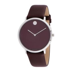 Movado-0607256-Mens-Modern-47-Brown-Quartz-Watch