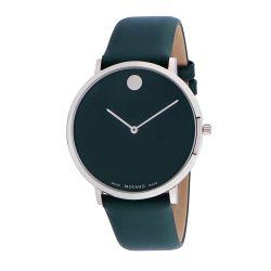 Movado-0607258-Mens-Ultra-Slim-Museum-Green-Quartz-Watch