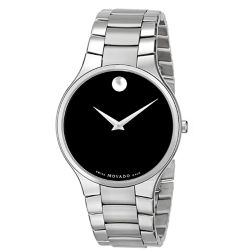 Movado-0607283-Mens-Serio-Black-Quartz-Watch