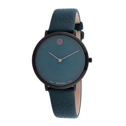 Movado-0607342-Womens-Modern-47-Ultra-Slim-Green-Quartz-Watch