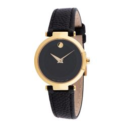 Movado-0607347-Womens-Museum-Classic-Black-Quartz-Watch