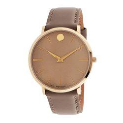 Movado-0607375-Mens-Ultra-Slim-Beige-Quartz-Watch