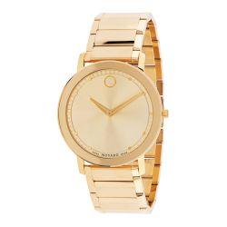 Movado-0607382-Mens-Sapphire-Gold-Tone-Quartz-Watch