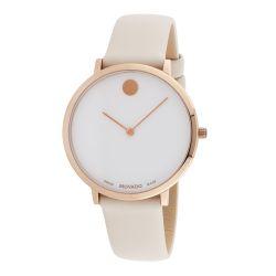 Movado-0607389-Womens-Ultra-Slim-White-Quartz-Watch