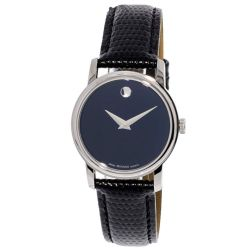 Movado-2100004-Womens-Museum-Black-Quartz-Watch