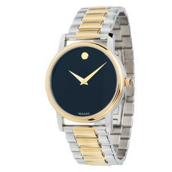 Movado-2100016-Mens-Museum-Two-tone-Quartz-Watch