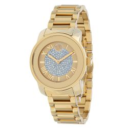 Movado-3600255-Womens-Bold-Gold-Tone-Quartz-Watch