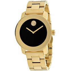 Movado-3600397-Unisex-Bold-Black-Quartz-Watch