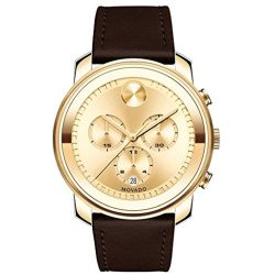 Movado-3600409-Mens-Bold-Gold-Quartz-Watch