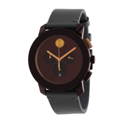 Movado-3600445-Mens-Bold-Brown-Quartz-Watch