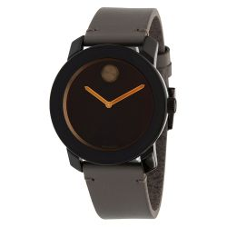 Movado-3600455-Mens-Bold-Brown-Quartz-Watch