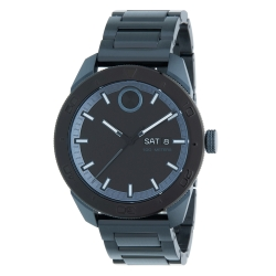 Movado-3600607-Mens-Bold-Black-Blue-Quartz-Watch
