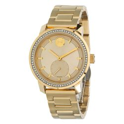 Movado-3600619-Womens-Bold-Gold-Tone-Quartz-Watch
