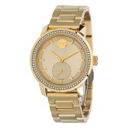 Movado-3600619-Womens-Bold-Gold-Tone-Quartz-Watch