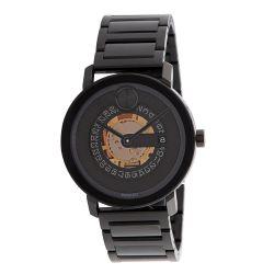 Movado-3600677-Mens-Bold-Black-Quartz-Watch