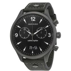 Movado-3650029-Mens-Heritage--Black-Quartz-Watch